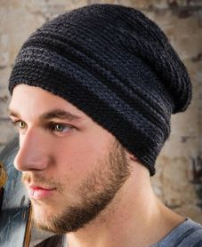 Men's Beanie Crochet Pattern - Free Crochet Pattern + Video Tutorial