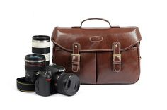 Coffee Vintage Look Britpop DSLR Camera Bag Canon Nikon Sony Shoulder PU Bag Christmas Gift