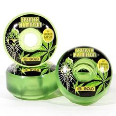 New Spencer Hamilton (@monsantokills) Gold Wheels are out now and we're so stoked!! #goldgoons #goldwheels