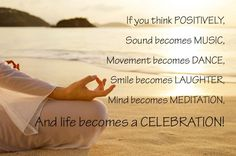"""how to become a positive thinker 
