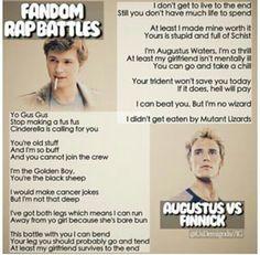 Fandom Rap Battle: Augustus vs Finnick. Who won?