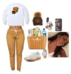 """"""""""" by d-o-p-e-xoxo ❤ liked on Polyvore featuring beauty, Puma and Michael Kors"""
