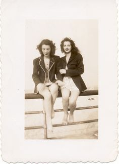 Girls just wanna have…  vintage (original) photo