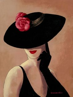 Lorraine Dell Woo ~ Flirty Hat – Mary Grable – Join the world of pin Tableaux Vivants, Lorraine, Art Pictures, Vintage Posters, Painting & Drawing, Fashion Art, Pop Art, Art Drawings, Illustration Art