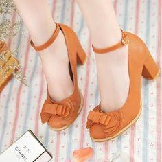 cute mary janes | Cute high heel mary janes | Taobao wishlist