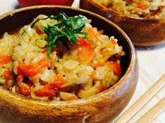 トマトとツナの和風炊き込みご飯の画像