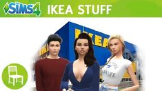 The Sims 4 Ikea Stuff: Official Fanmade Trailer Sims Four, Sims 4 Mm Cc, Sims 4 Game Mods, Sims 4 Mods, The Sims 4 Packs, Sims 4 Game Packs, Sims 4 Restaurant, Sims 4 Traits, Sims 4 Black Hair
