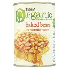 Tesco Organic Baked Beans In Tomato Sauce 420G - Groceries - Tesco Groceries