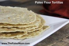 Paleo Flour Tortillas made with Otto's Naturals Cassava Flour (AIP-Friendly) The Paleo Mom