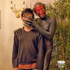 On the set of Insidious Ghost Movies, Horror Movie Characters, Scary Movies, Scary Scary, Horror Villains, Scary Stuff, Scary Halloween, Halloween Makeup, Halloween Ideas