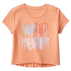 Mudd® Crop High-Low Tee - Girls 7-16 and Plus