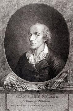 Jean Marie Roland, Ministre de l'Interne. Inconnu — Édouard Charton, Le Magasin Pittoresque, 1777 à 1786, Aux Bureaux d'Abonnement et de Vente, 1858.