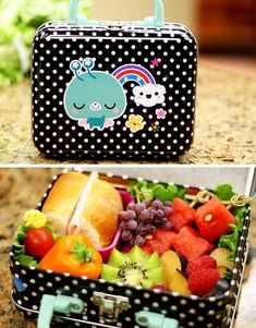 Bento namiesto tradičnej školskej desiaty. Bento, Lunch Box, Food, Diet, Essen, Bento Box, Meals, Yemek, Eten