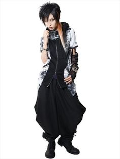 STUDS LOOSE Sarrouel Pants (F) SC02190-101 SEX POT ReVeNGE APPAREL. See more at: http://www.cdjapan.co.jp/apparel/ #punk #japanesefashion