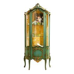 Vetrina Fratelli Radice Antique Furniture, Painted Furniture, Classic Interior, Craft Projects, Antiques, Crafts, Imperial Russia, Interiors, Design