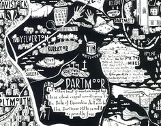10 of the best hand-drawn maps – in pictures
