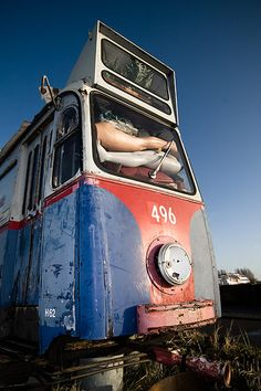 Tram Wrak, NDSM WerF