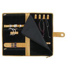 Jewelry Organizer Personalized Jewelry Jewelry leather roll
