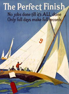 I love Mather's posters I own 11 of them....Nautical sailing poster - #nautical
