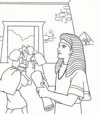 Joseph Pharaoh Coloring Sheet