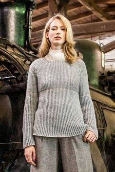 Lana Grossa RAGLANPULLI 100% Cashmere Fine - FILATI Handstrick No. 65 - Modell 5…