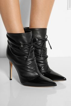 Gianvito Rossi | Leather ankle boots | NET-A-PORTER.COM
