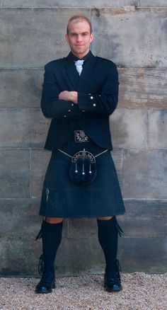 Joshua is thinking about wearing a kilt!