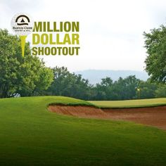 """Think you have what it takes to sink a million dollar shot on one of our 4 championship golf courses?    All entries will receive a special promo code valid for 30% off your next stay at Barton Creek.    ~Spread the word so your friends can register for a chance to win too. We'll throw in an extra submission for you if you do!  """"Like"""" our Facebook page to enter."""