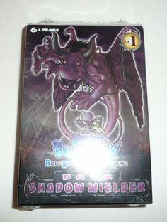 Blue Dragon Role Playing Card Game Dark Shadow Wielder Starter Deck RPG SEALED #Konami