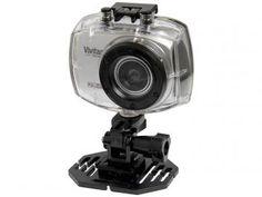Câmera Filmadora Esportiva Full HD Vivitar - DVR787HD 12,1MP Conexão Mini USB c/ Caixa Estanque