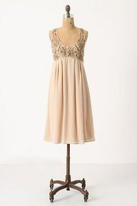 slip dress maybe add wedding dress lace sequins to top of slip dress for glitz