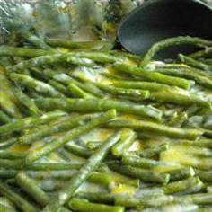 Green Bean Cassarole.