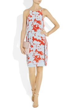 Oh 3.1 Phillip Lim  Floral-print silk crepe dress, please, oh please go on sale before June.  The perfect dress to wear to a summer wedding.