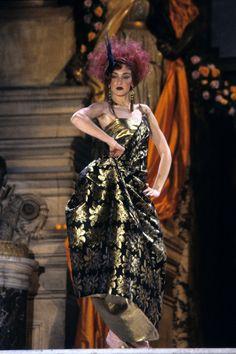 Christian Dior Spring 1998 Couture Fashion Show - Chrystèle Saint Louis Augustin
