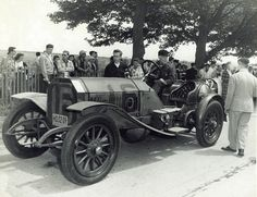 The First American Car to Win the Vanderbilt Cup 1908
