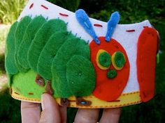 Hungry Little Caterpillar Crown... for the guest of honor?