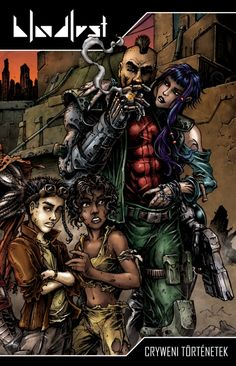 Cryweni tortenetek borito (vegso design) by BloodlustComics on DeviantArt Comic Book Covers, Comic Books, Fantasy Comics, Cyberpunk, Art Drawings, Deviantart, Movie Posters, Wraparound, Fictional Characters