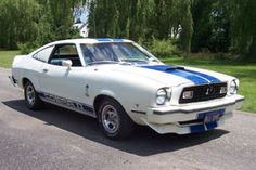 1976 Ford Mustang Cobra II from Charlie's Angels