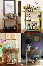 small bar cart ideas - Google Search