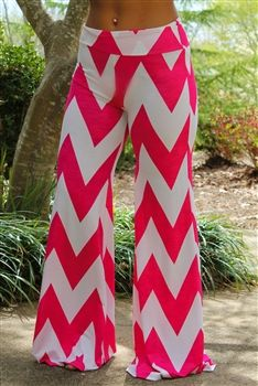 Even though they do look like something from the circus, I would still love to have them! Poolside Palazzo Pants - White $34.99 #SouthernFriedChics