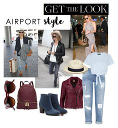 """""""MY FAVORITE AIRPORT STYLE"""" by onesweetthing on Polyvore featuring Haute Hippie, Miss Selfridge, New Look, Artesano, Aquatalia by Marvin K., Michael Kors, GetTheLook and airportstyle"""