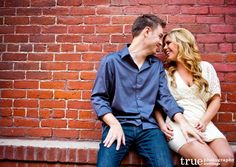 Stylish and Sophisticated Engagement Photo Shoot in Downtown San Diego