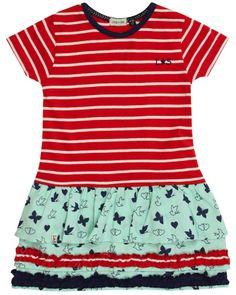 Lilly & Sid Stripe Ra Ra Dress £26.95