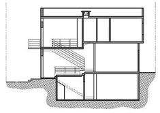 Duplex House Plans, Apartment Floor Plans, Modern House Plans, Small House Plans, Architecture Plan, Residential Architecture, Circle House, Small Villa, Villa Plan