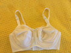 Vintage New Bali White Bra 34D   eBay