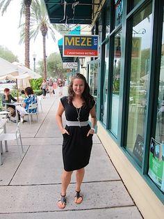 @Meghann Anderson wearing our Rohre Dress!