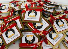 little penguin cards - cute and simple...I like it!