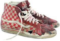 My boys end up with mangled Vans like these all the time
