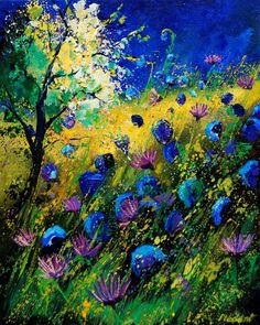 "Saatchi Art Artist: Pol Ledent; Oil 2012 Painting ""summer 450208"""