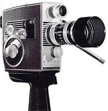 8mm camera; my father filmed hours of our family on one of these